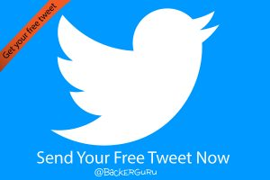 Bakkoo Creator Resources Send Your Free Tweet At BackerGuru