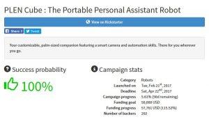 Bakkoo Kickstarter Club Free Kickstarter Crowdfunding Tools Sidekick Project Display