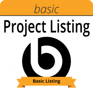 Basic project listing in the Bakkoo Kickstarter Club