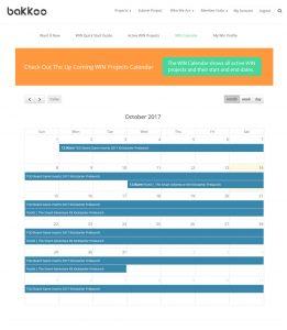 WIN Calendar Example