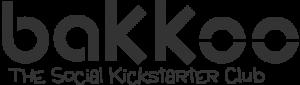 Bakkoo Main Logo Grey With Text